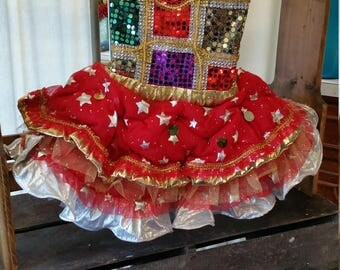 Toddler Circus Themed Pageant Dress