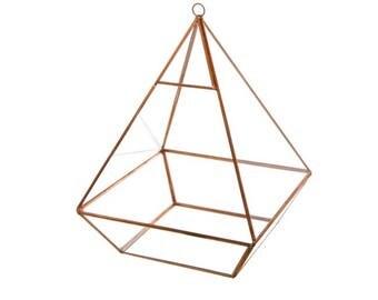 Squat Pyramid Terrarium - Large