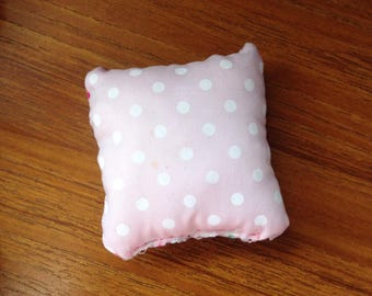 White Dotted Pillow