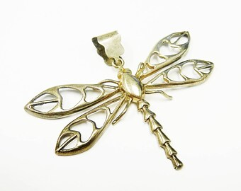 Very Neat Sterling Silver Dragonfly Pendant