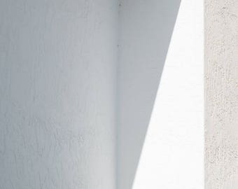Minimal White Abstract Conceptual Photography Downtown Fort Lauderdale Florida
