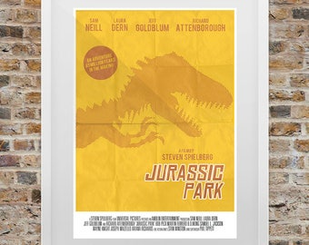 Jurassic Park Vintage Print
