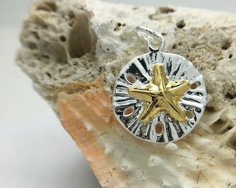 Sterling Silver Starfish Sanddollar, Nature Jewelry, Manufacture, Export, Wholesale