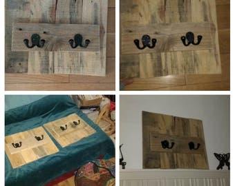 Rustic Wooden Hooks