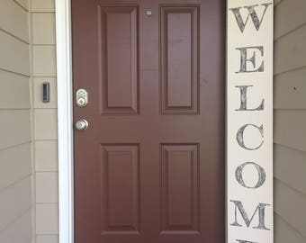 Custom, Painted, Welcome Sign