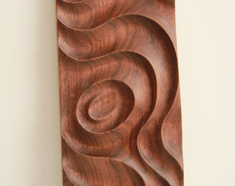 Black walnut decorative panel