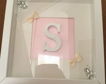 Lettered Wall Frame