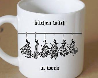 Kitchen Witch Herbs Coffee Mug