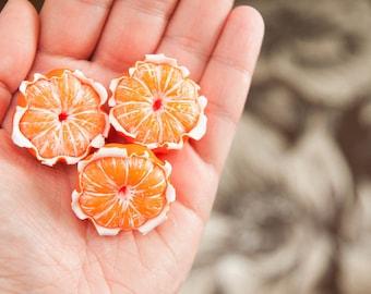 1 PCS/Mandarin/Berries made of polymer clay