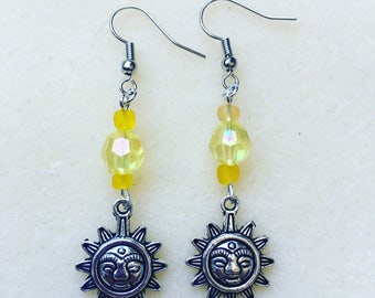 Dangle sunshine earrings