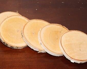 Birch Coasters (set of 5)