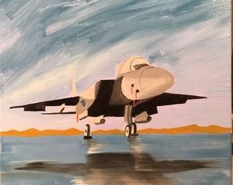 F-15 Eagle quietly awaits the dawn