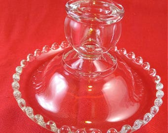 Set of Vintage Candlewick candle holders   #8