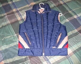 Vintage Mountain Goat Ski Vest - Women's Size Large