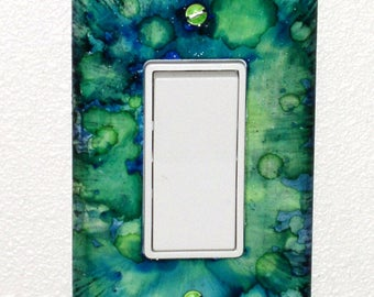 Bubbles Switch Plate Cover