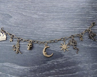 Mother of Dragons Charm Bracelet