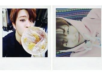 GOT7 Youngjae Boyfriend Material Polaroids