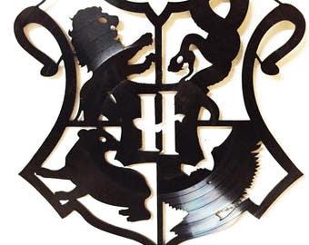 Hogwarts Crest Vinyl Wall Art