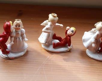 Three Japanese Lefton China Figurines