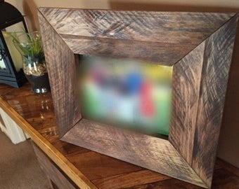 Pallet Wood Photo Frame