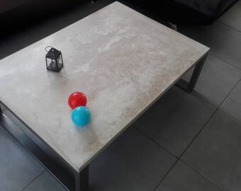 Table concrete steel