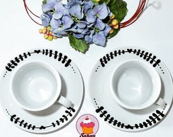 Twin set tea set