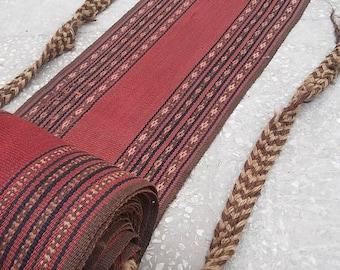 Turkish Oushak Rug,Cadet Rugs,Home Aksesuar, Decoratıve Aksesuar rug,1X11feet,Home living,  floor rug,Vintage rug kilim,