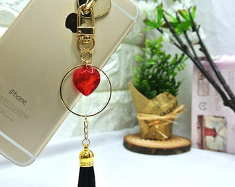 Beautifully designed cellphone / Cellphone charm / Cell Phone Accessories / Bag charm / iphone charm