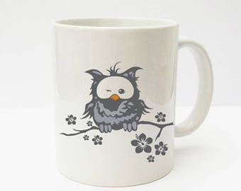 Cup with OWL OWL Cup OWL Strobel owls TS009