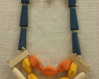 Gorgeous chunkry statement necklace