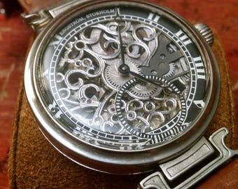 Engstrom Watch - Hand Skeletonized
