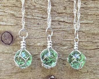 Glow In the Dark Fairy Necklace, Boho Glow Necklace