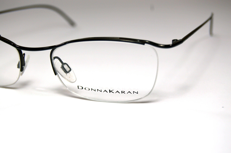 Vintage eyeglasses. Donna Karan. No worn. Classic butterfly - Semi ...