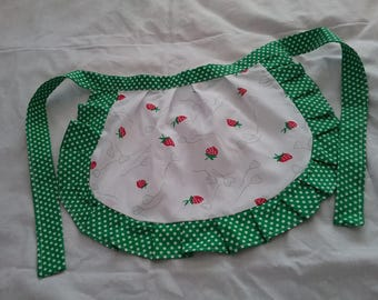 Apron for little girl, pinny, gift