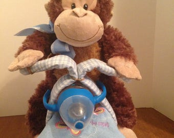 Monkey Diaper Motorcycle
