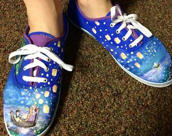 Completely Customizable hand painted shoes