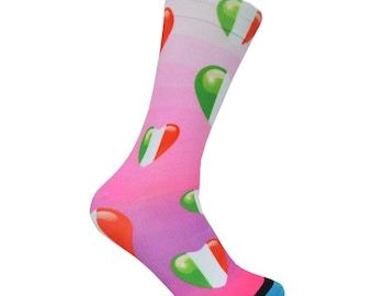 Italian Heart Socks