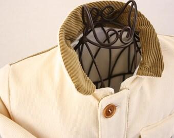 Baby jacket of corduroy, size 62
