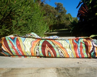 Yoga Mat Bag Paisley
