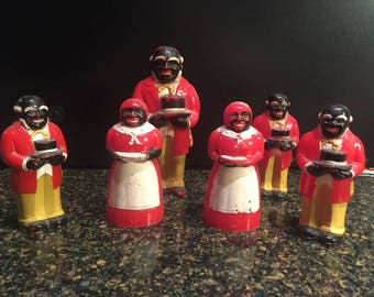 Vintage Black Memorabilia Aunt Jemima, Uncle Mose Collection