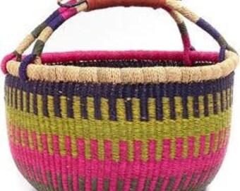 Weaved carrier bag