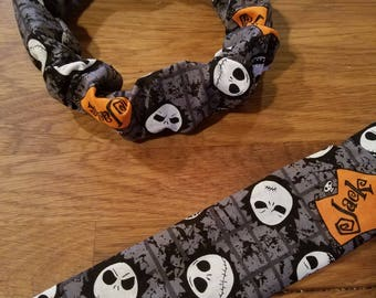 Nightmare Before Christmas Dog Collar Cover