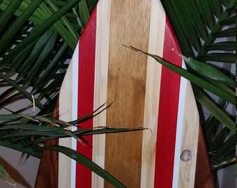 Surfboard Wall Art - Beach Art - Tiki - Tiki Bar - Ocean Art - Sea - Surfboard - Surf