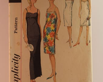 Vintage Sewing Pattern - Simplicity Dress 5729 Size 14