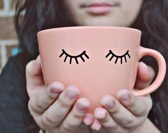Eyelash Coffee Mug