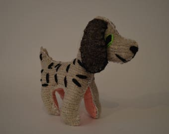 Wool made Dalmatian dog