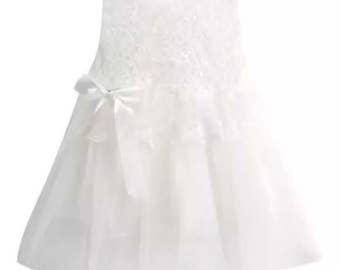Pretty Floral Bow Tutu Dress