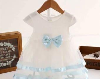 Beautiful Baby Girl Romper Tutu Dress. Size 0-3 Months