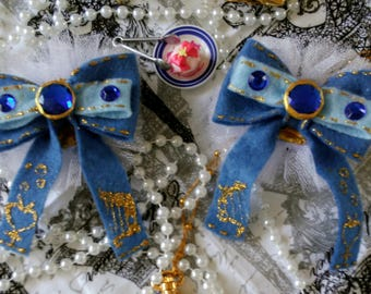 Sailor Mercury shoe clips