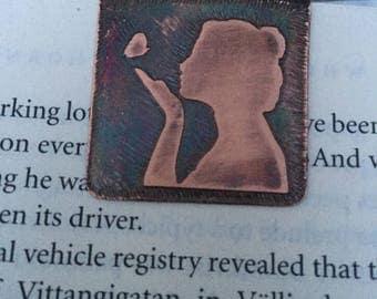 Silhouette bookmark